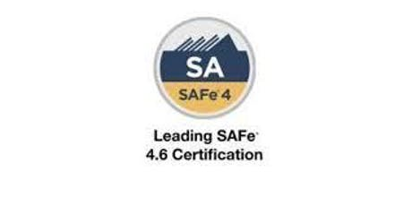 Leading SAFe 4.6 Certification 2 Days Training  in Calgary tickets