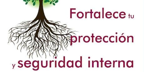 CONFERENCIA GRATUITA: FORTALECE TU PROTECCIÓN Y SEGURIDAD INTERNA entradas