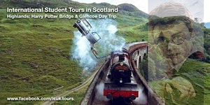 Harry Potter Bridge and Glencoe Day Trip Sat 21 March