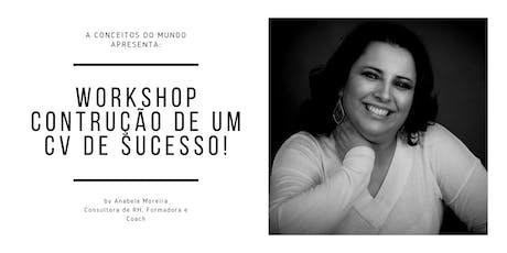 Workshop Gratuito: Construção de um CV de Sucesso by Conceitos do Mundo bilhetes