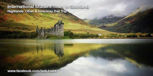 Highlands: Oban and Inveraray Day Trip Sat 18 Jan