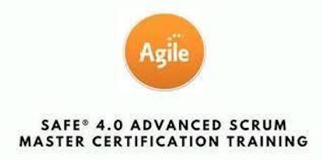 SAFe® 4.6 Advanced Scrum Master with SASM Certification 2 Days Training in Hamilton tickets