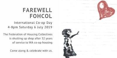 FAREWELL FOHCOL on International Co-op Day
