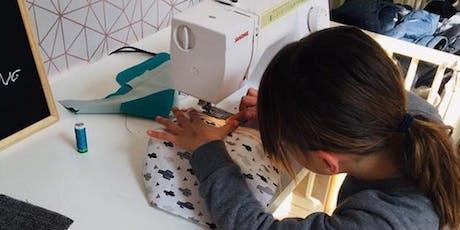 Cours de couture pour enfants billets