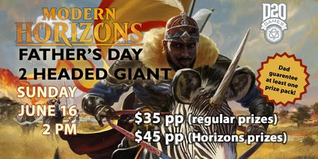 Father's Day Modern Horizons Magic Two-Headed Giant tickets