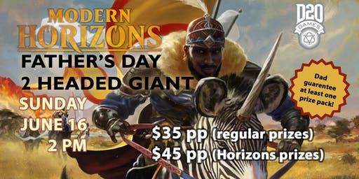 Father's Day Modern Horizons Magic Two-Headed Giant