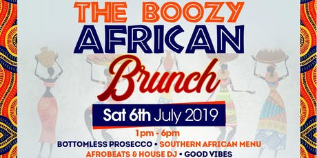 Boozy African Brunch  tickets