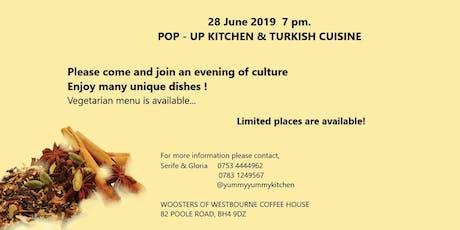 Pop-up Kitchen Turkish Cuisine tickets