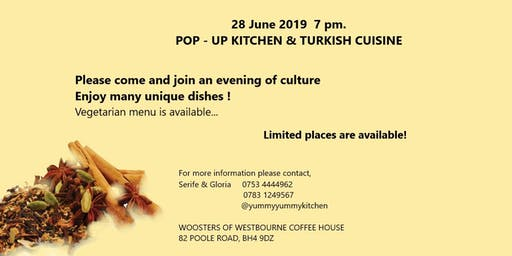 Pop-up Kitchen Turkish Cuisine