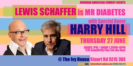 Nunhead American Comedy Night: Lewis Schaffer + Special Guest Harry Hill tickets