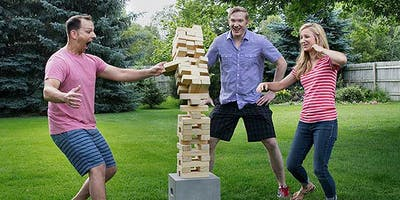 Giant Jenga Tournament