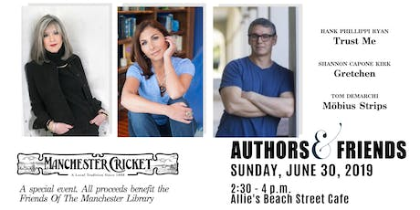 Authors & Friends tickets