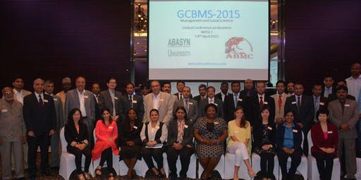 6th Global Conference on Business Management and Social Sciences GCBMS-2019