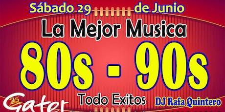 La Mejor Musica 80s - 90s Todo Exitos entradas