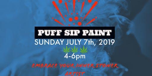 Puff Sip & Paint