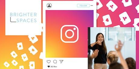 Instagram Marketing Workshop at BrighterSpaces tickets