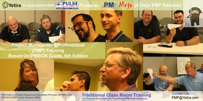 PMP Ninja   - A 4 Day Intensive PMP Training Based On PMBOK 6th Edition