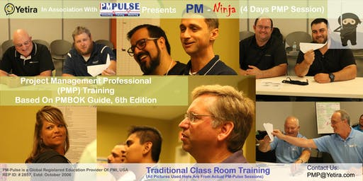 PMP Ninja - 4 Day Intensive PMP Training Based On PMBOK 6th Edition