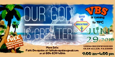 """""""Our God Is Greater"""""""