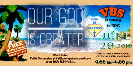"""Our God Is Greater""  tickets"