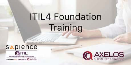 ITIL4 Foundation Training - Brunei (3 Days Instructor Led Classroom Training) tickets