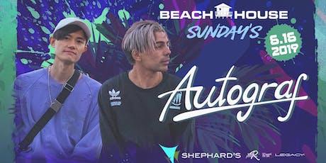 Autograf at Beach House Sunday's  tickets