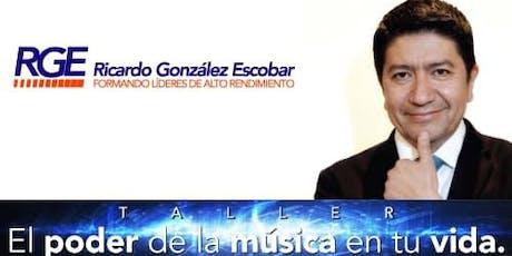 """TALLER """"EL PODER DE LA MÚSICA EN TU VIDA"""" entradas"""