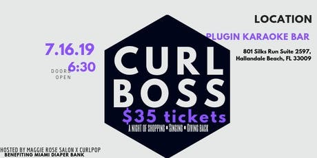 Curl Boss 2019 tickets