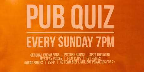 The Albany Pub Quiz tickets