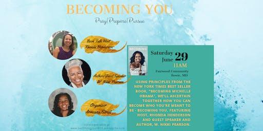 Becoming YOU: Book Talk & Breakfast