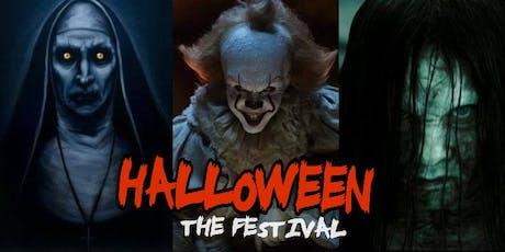 HALLOWEEN - THE FESTIVAL 2019 ingressos