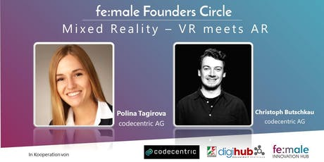 fe:male Founders Circle | Mixed Reality – VR meets AR ingressos