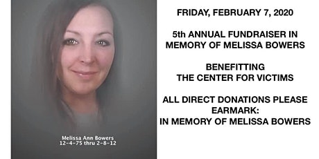 In Memory of Melissa Bowers & Domestic Violence Awareness tickets