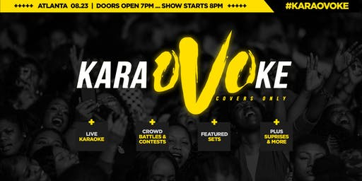 #KaraOVOke - Karaoke With A Twist... Featuring OVO Covers ALL NIGHT!!