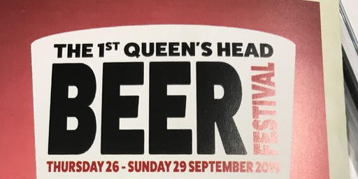 Queens Head Bramfield 1st Beer Festival