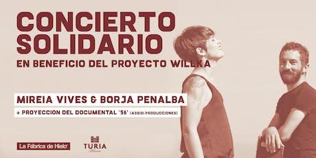 Concierto solidario: Mireia Vives & Borja Penalba tickets