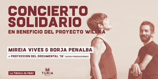 Concierto solidario: Mireia Vives & Borja Penalba