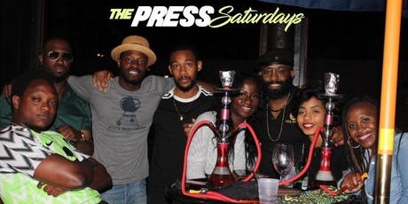 SATURDAY NIGHTS at THE PRESS: Top 40, Latin, Hip-Hop |  UPNevents.com tickets