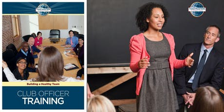 Toastmasters Club Officer Training Cincinnati July 27, 2019 tickets