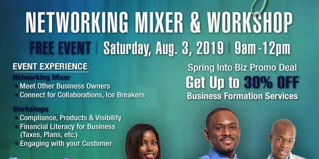 Coffey and Biz - Networking Mixer and Workshop #3 tickets