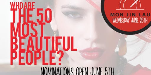 Shanghai Wednesday's Presents: The 50 Most Beautiful People Party