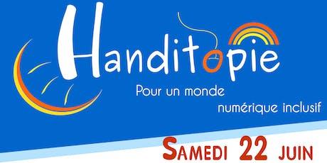 Handitopie, pour un monde numérique inclusif tickets