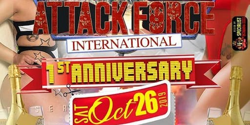 Attack Force 1st Anniversary - October 26