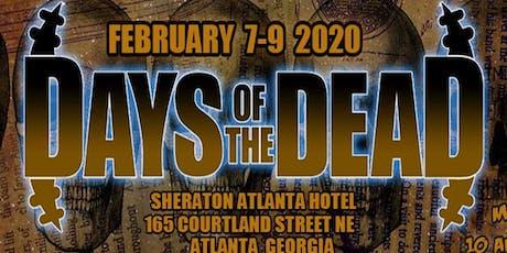 Days Of The Dead Atlanta 2020 - Vendor Registration tickets