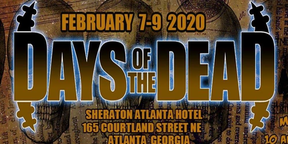 Atlanta Event Calendar For February 2020 Days Of The Dead Atlanta 2020   Vendor Registration Tickets, Fri