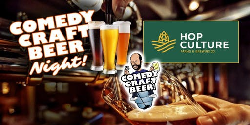 Hop Culture Comedy NIght