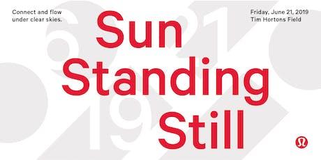 Sun Standing Still: Yoga at the Field tickets