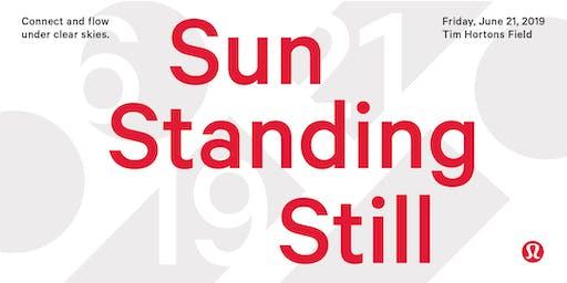 Sun Standing Still: Yoga at the Field