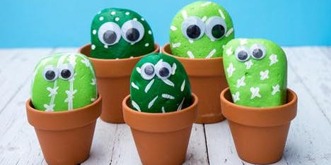 Try It Tuesday: Cactus Pet Rocks