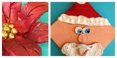 Christmas Clay Class Homeschool Workshop (5-12 Years)